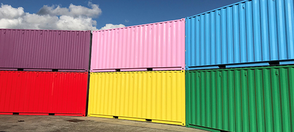 colourful shipping container storage - pricing page