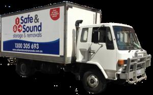 Safe & Sound removals truck